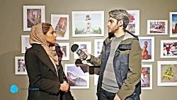 نمایشگاه نقاشی با قلم گلکسی نوت 8 در تهران