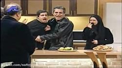 سکانس طنز و خنده دار مهران مدیری/کلیپ باحال پاورچین