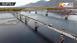 تصاویری از یکی از پل های خطرناک و ترسناک در جهان!