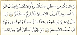 ویدیو قرائت ترتیل صفحه 49 قران پایه هفتم