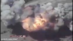 نابودی پایگاه داعش تنه...