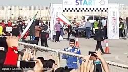 شهاب پیشانیدار درراند 4 مسابقات فرمولا دریفت قهرمانی کشور به میزبانی اهواز 96 shahab pishanidar
