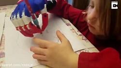 خلاقیت کودکی پنج ساله ب...
