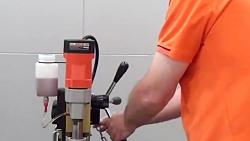 نحوه کار کردن با دریل مگنت  ( گروه صنعتی اسکندری )