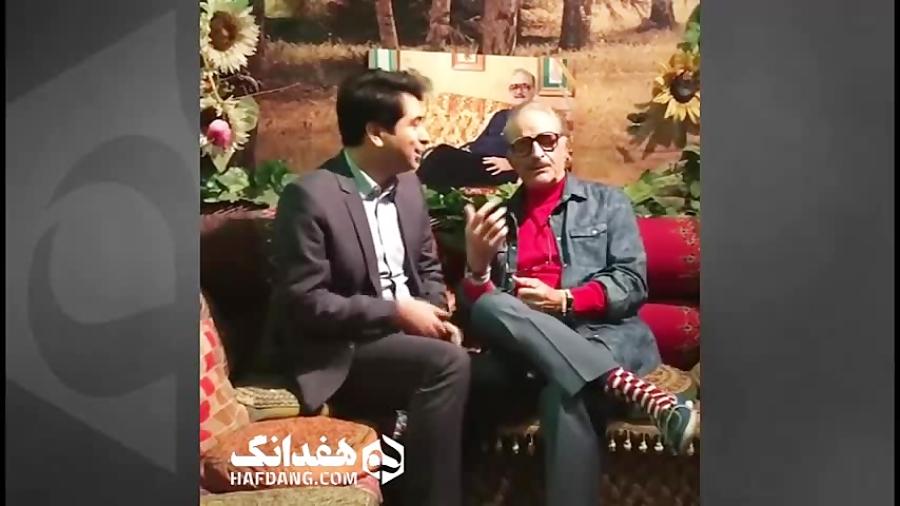 همخوانی جالب کورس سرهنگ زاده و محمد معتمدی