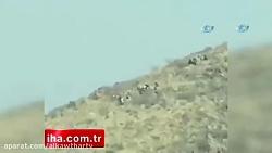حمله مرگبار جنگنده ترکیه به کردهای سوری+فیلم