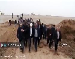 ریزگردها حجتی و کلانتری را به خوزستان کشاند