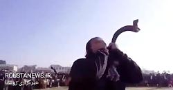 عزاداری بوشهری ها برای سانچی