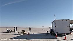 ناسا : آزمایش تکنولوژی بالچه های تاشو در حین پرواز