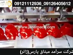 دستگاه پرکن خطی مایعات غلیظ ساخت شرکت سرامد میثاق پارس (ژانر)