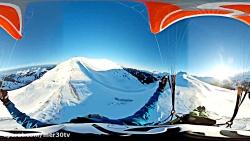 ویدئو 360 درجه از لذت پرواز درکرانه های آسمان