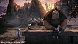 فیلم انیمیشن شکارچیان اژدها دوبله فارسی