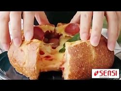 فیلم آموزشی تهیه پیتزا ...