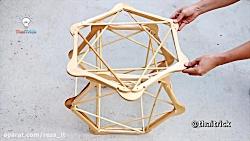 ۳ ایده خلاقانه با چوب لباسی