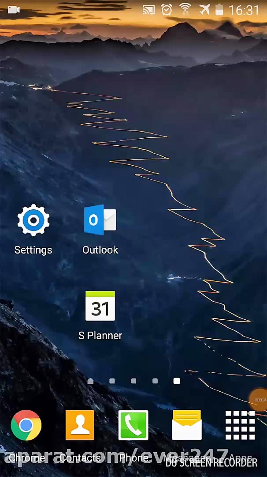 آموزش نحوه اتصال تقویم اوتلوک به تقویم موبایل