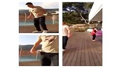 اسکیت بازی کردن مسی