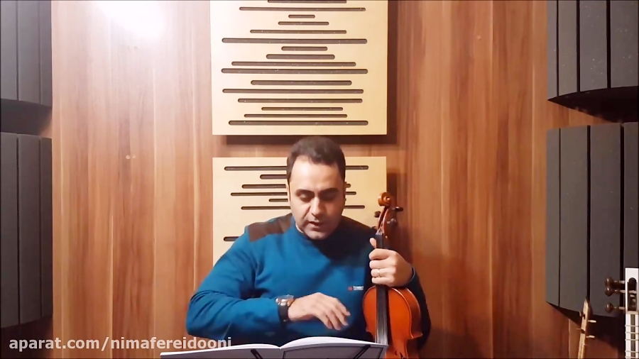 فیلم آموزش تمرین ۱۶۰ ویولن کلاسیک کتاب لویولن ۳ le violon جلد سوم ایمان ملکی