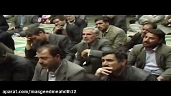 ایام فاطمیه با مداحی حاج مهدی منصوری در مهدیه سریش آباد
