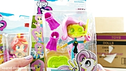 New MLP Equestria Girls Forgotten Friendship In Swimsuit Minis Toy Review
