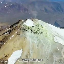 فیلم دیده نشده از قله دماوند