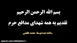 مدافعان حرم بانوای فوق ...