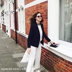 Trinny Woodall BIG POKIES In White Outfit. 01-02-18