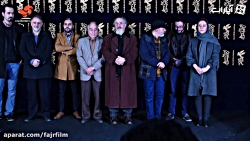 جشنواره فیلم فجر - مراسم استقبال عوامل مستند بانو قدس ایران