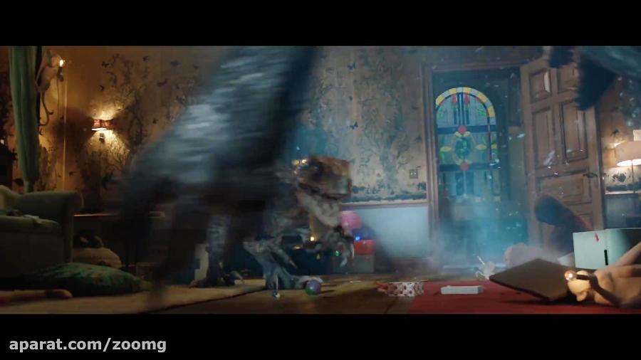 دومین تریلر فیلم Jurassic World: Fallen Kingdom - زومجی