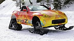 نیسان ۳۷۰Zki برف نورد