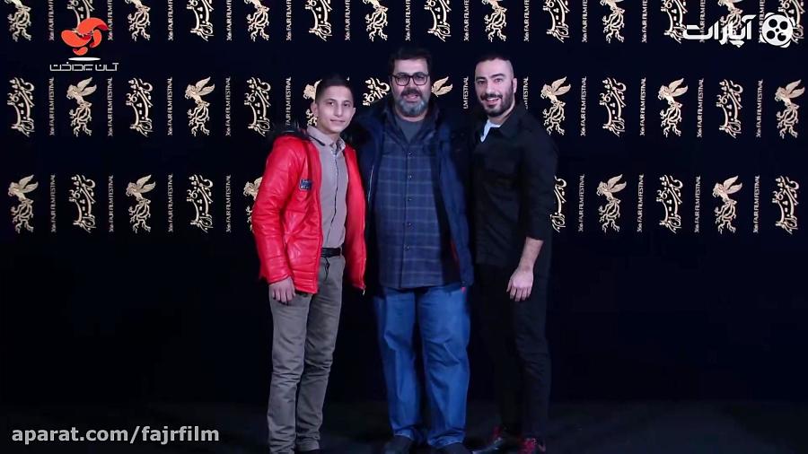 جشنواره فیلم فجر - مراسم استقبال عوامل فیلم مغزهای کوچک