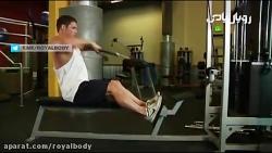 آموزش حرکت بدنسازی فیس پول نشسته (سرشانه خلفی)