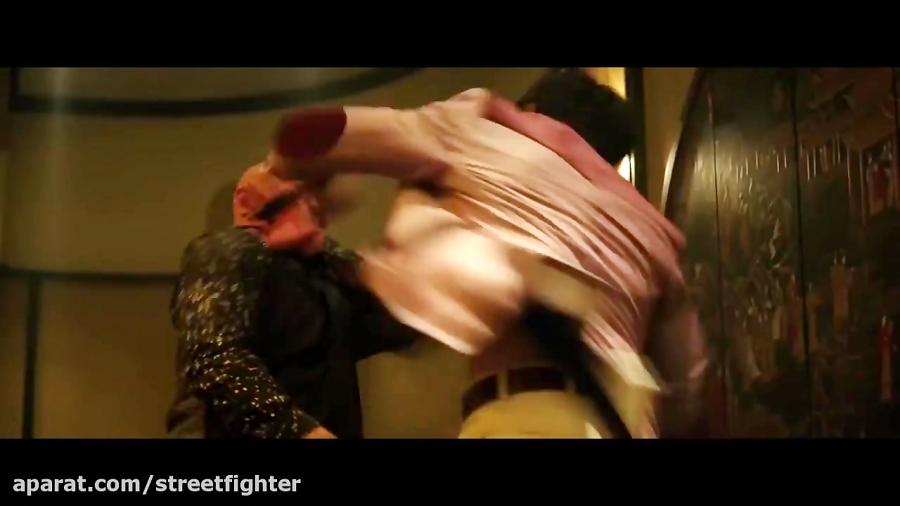 مبارزه جذاب و پایانی بروس لی در فیلم تولد اژدها 2017