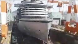 ساخت کشتی های غول پیکر ...