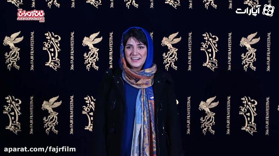 باران کوثری روی فرش قرمز جشنواره فیلم فجر