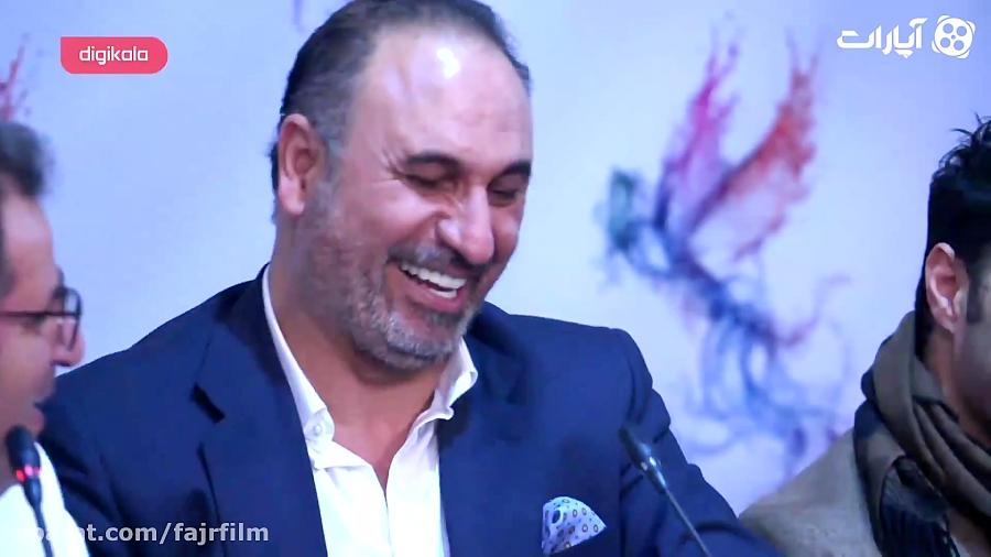 جشنواره فیلم فجر - کنایه حمید فرخ نژاد به سکوت بازیگران