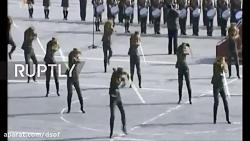 رژه دیدنی ارتش کره شمالی با حضور عمو کیم