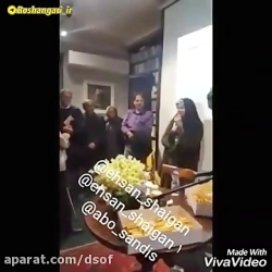 رقص فائزه هاشمی رفسنجا...
