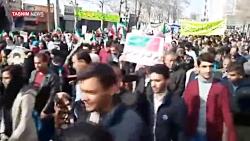 راهپیمایی با شکوه ۲۲ بهمن در کهگیلویه و بویراحمد