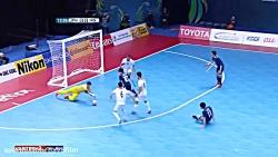 خلاصه بازی فوتسال ایران ۴ – ۰ ژاپن