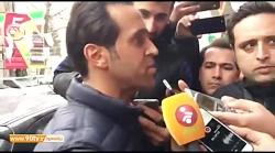 اختصاصی  صحبتهای علی كریمی پیش از حضور در جلسه كمیته انضباطی فدراسیون فوتبال