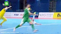 قهرمانی تیم ملی فوتسال ایران در جام ملت های آسیا