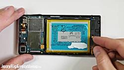 تاچ و ال سی دی گوشی Xperia Z...