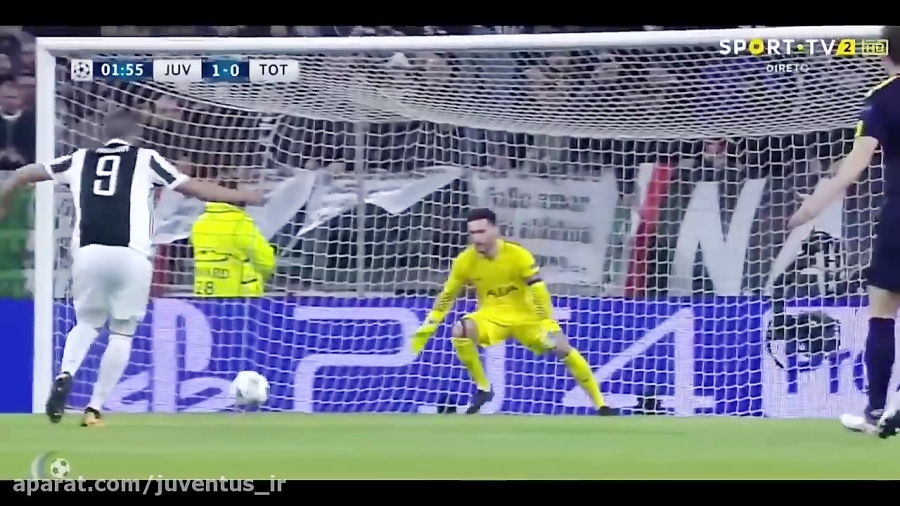 Juventus-Tottenham 2-2 Highlights Goals (2018 Champions League)