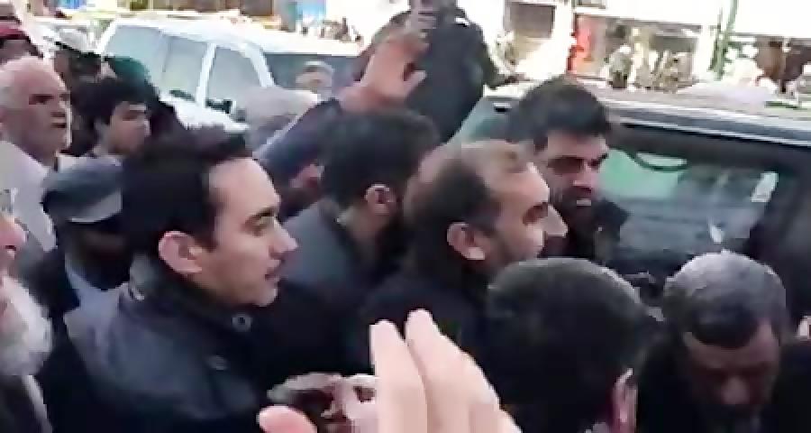حضور دکتر احمدی نژاد مقابل دادگاه تجدید نظر حمید بقایی