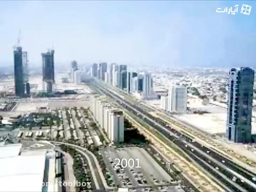 دبی از 1930 تا 2012