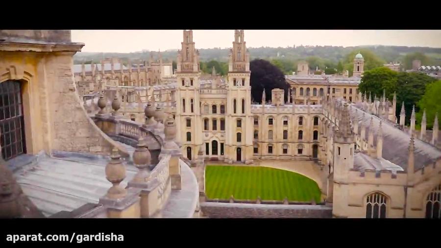 تماشای دانشگاه آکسفورد از هوا