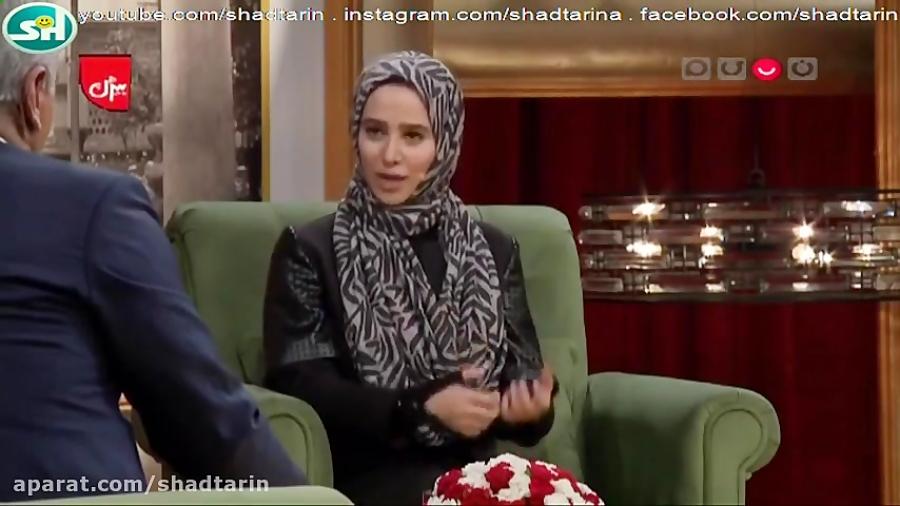 مصاحبه بسیار دیدنی الناز حبیبی در دورهمی مهران مدیری
