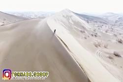 موتورسواری در دل کویر ب...