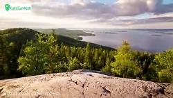 طبیعت فنلاند - کافه گرد...