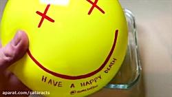 پاره کردن توپ های ضد استرس